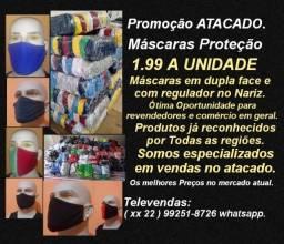 Mascaras Proteção Promoção atacado