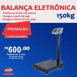 Título do anúncio: Balança Digital 150 kgs Plataforma Piso Reforçada  Entrega grátis