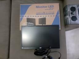 "Monitor AOC 21,5"" Full HD (novíssimo, na garantia)"