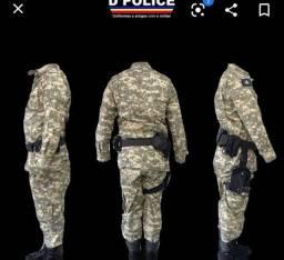 Vendo uniforme militar