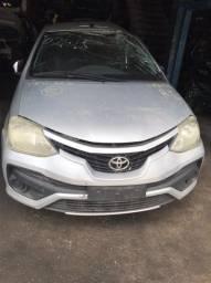 Sucata Toyota Etios HB X 1.3 L AT 2017/2018