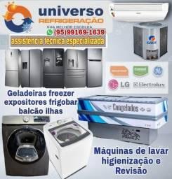 Título do anúncio: Conserto de Ilhas balcão expositores frigobar cervejeiros câmara frigorífico