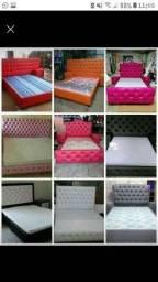 camas e cabeçeira
