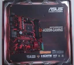 Monte o Seu Computador Gaming - Kit Placa Mã e Processador Ryzen 5 1600