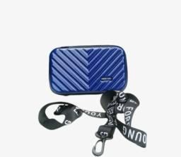 Título do anúncio: Bolsa Feminina Mini Bag Rígida Transversal