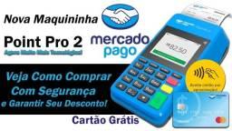 Maquinina de Cartão - Máquina De Cartão Do Mercado Pago Point Pro 2