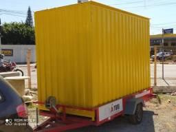 Título do anúncio: Container 3M - Modelo Almoxarifado/Depósito