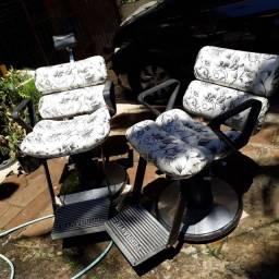 Título do anúncio: Cadeira barbeiro