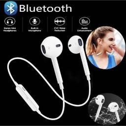 fone sem fio bluetooth recarregável para iPhone Android Samsung Lg xiaomi