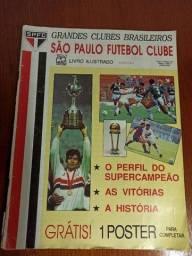Álbum De Figurinhas Completo São Paulo Fc + Ganhe Brinde