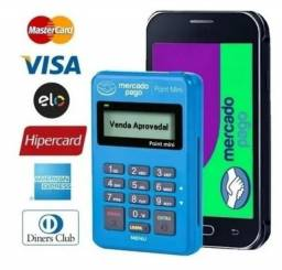 Título do anúncio: Maquininha de Cartão Crédito e Débito do Mercado Pago