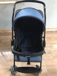 Carrinho de bebê burigotto rio k com bebê conforto