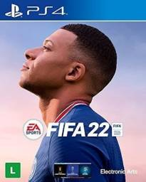Título do anúncio: Playstation 4 fifa 22 e cyber lacrados ps4