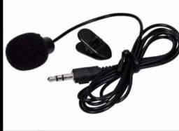 Microfone Lapela Mini 3.5mm P2
