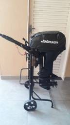 Título do anúncio: Motor de popa Johnson 15Hp