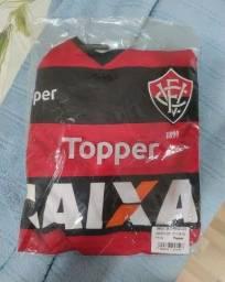 Camisa EC Vitória 2017 Tamanho GG veste G