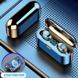 Fones De Ouvido Bluetooth F9TWS 5.1 (a prova d'água)