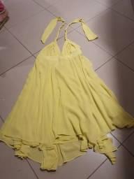 Título do anúncio: Vestido seda tamanho M