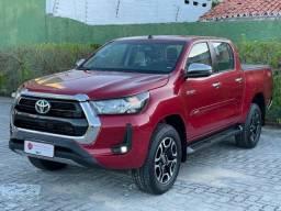 Título do anúncio: Toyota hilux 2021 2.8 d-4d turbo diesel cd srv 4x4 automÁtico
