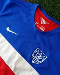 Título do anúncio: Camisa Estados Unidos 2014 Away Tam G Usada Original