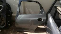 Porta traseira esquerda Celta Prisma Original Cinza