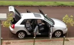 Audi a3 2002 impecável troco por fiorino, kango, doblo, partner - 2002