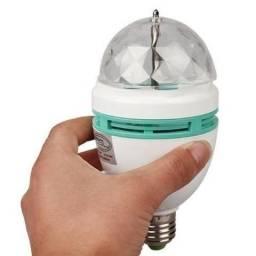 Lampada Giratoria Led Rgb 3w