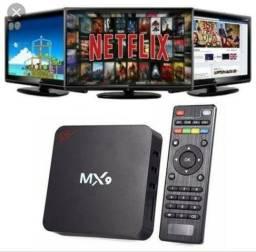 Televisão inteligente. Transforme Sua Tv em Smart. Tv Box