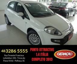 Punto Attractive 1.4 Italia Completo - 2013