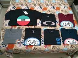 Camisetas Oakley e Hurley original