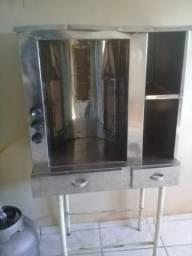 Vendo máquina de churrasco grego