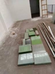 Vidros modulares para balcões e gondolas