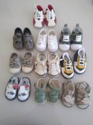 Sapatinhos, tênis, sandálias de bebe