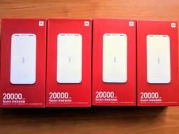 Carregador Portátil Xiaomi USB kickcharge3.0 18w 20000mah lacrados