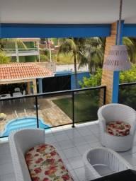 Super casa luxo com 3 pisos na praia de enseada dos corais