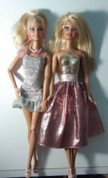 Barbie Articulada e Barbie Fashion (vendidas juntas)