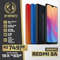 Xiaomi Redmi 8A 2/32GB AZUL 10x 83.50 no cartão de crédito (lacrado) C/garantia