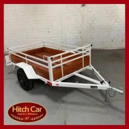 Carretinha 1.20 x 1.60 Hitch Car - Estilo Fazendinha