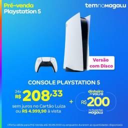 Playstation 5 + 200$ de volta.