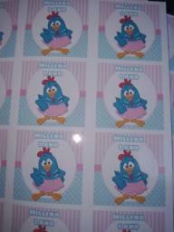 Folha Adesiva ou impressão em papel fotográfico