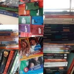 Livros diversos (lista completa na descrição)
