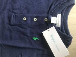 Camisa Polo Ralph Lauren para bebê original
