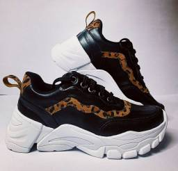Tenis Sneaker Feminino N34 ao N39