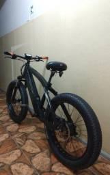 Bike elétrica FAT Milano Registrada, 36v 2 baterias 20ah e 10ah