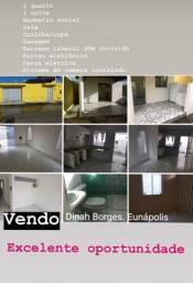 Casa 2 quartos Eunapolis/Ba