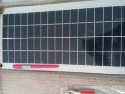 Placa solar+ regulador e cabos 880,00
