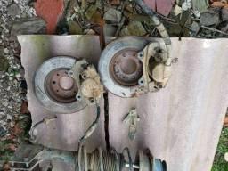 Pinça e disco de freio pálio, siena e strada