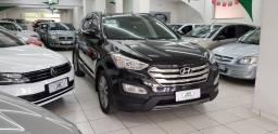 Hyundai santa fé 3.3 v6 4x4 7lug aut. preto 2014 gasolina