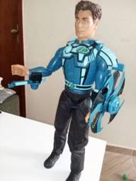 Bonecos articuláveis Max Steel usados