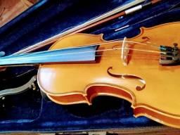 Violino acompanha case